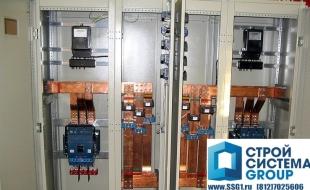 Силовые электрощиты низкого напряжения до 6300А