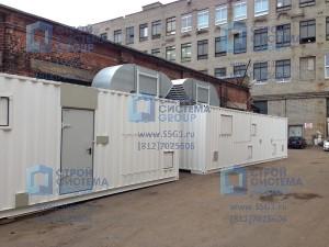 Контейнеры для оборудования. Блок контейнер СЕВЕР компрессорная станция высокой производительности