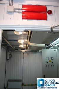 освещение кондиционирование электрификация ЩСН