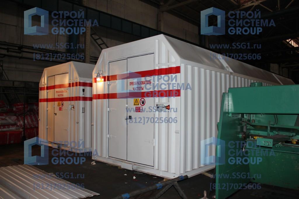 Антивандальный цельнометаллический контейнер СЕВЕР