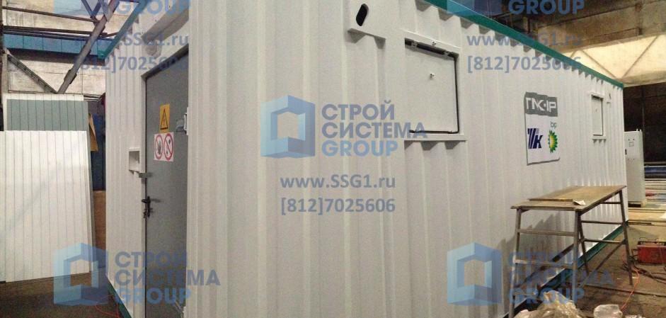 Блок контейнер ТНК BP контейнерная трансформаторная подстанция