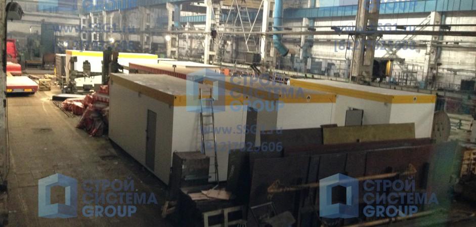 Производство блок контейнеров СЕВЕР для оборудования