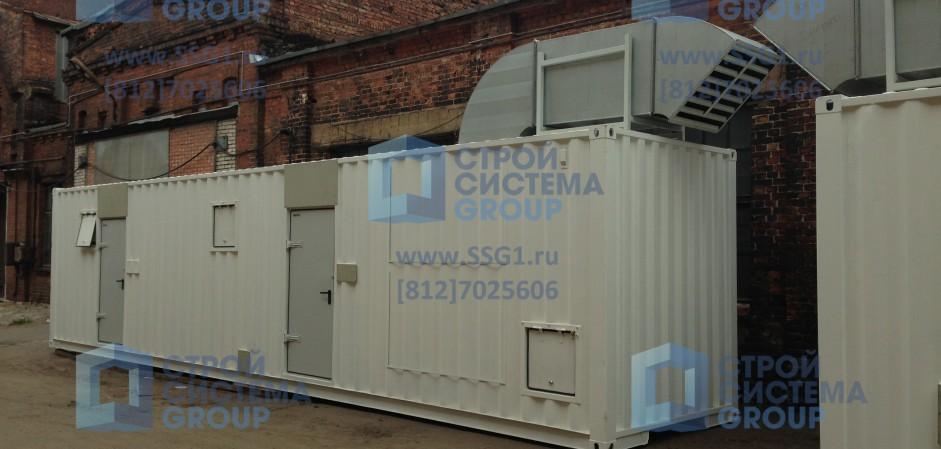 Блок контейнеры азотная компрессорная станция высокой производительности для нефтеперерабатывающего завода