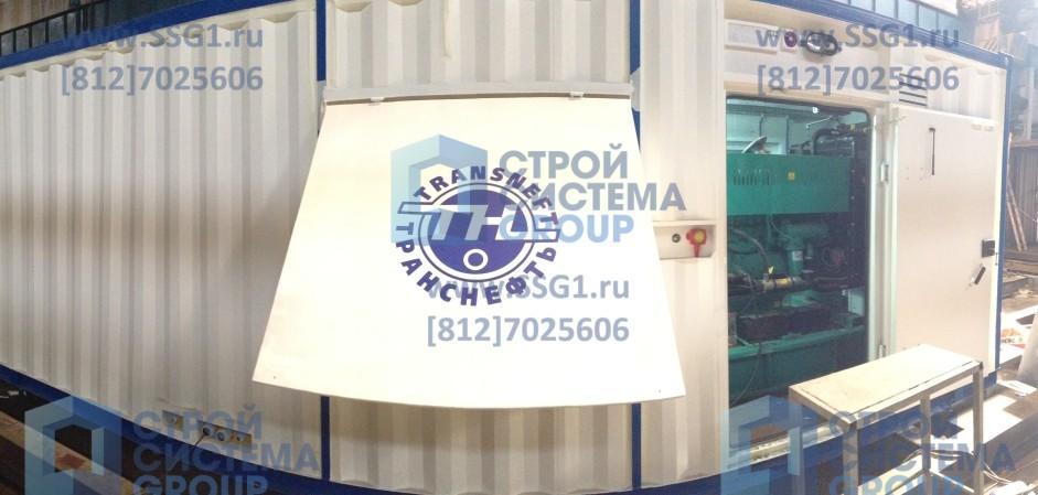 Блок контейнер ДГУ 500кВт Транснефть