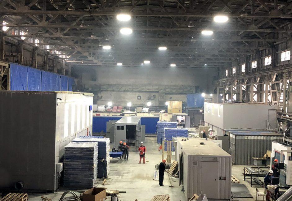 Производственная площадка более 2000кв.м