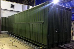 Специальный контейнер Министерство обороны