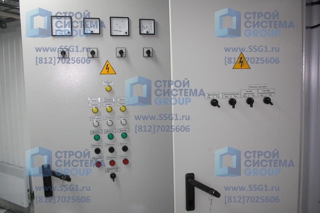 Блок контейнер СЕВЕР ЩСН с учетом электроэнергии автоматикой и распределением блок модуль узел связи