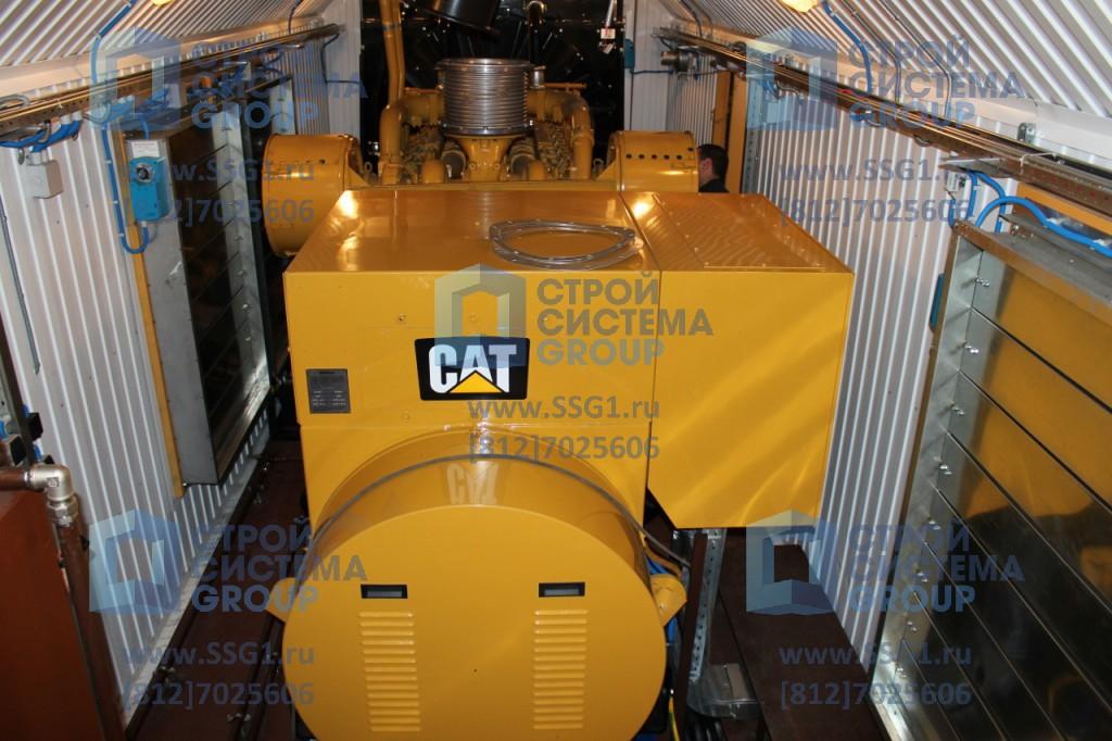 Дизельная генераторная электростанция (ДГУ) контейнерного исполнения